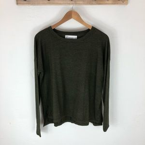 Silk and Cashmere blend Crew Neck Sweater